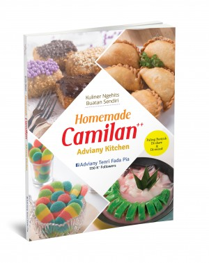 Cover Buku SOP - Homemade Camilan  ++ Adviany Kitchen