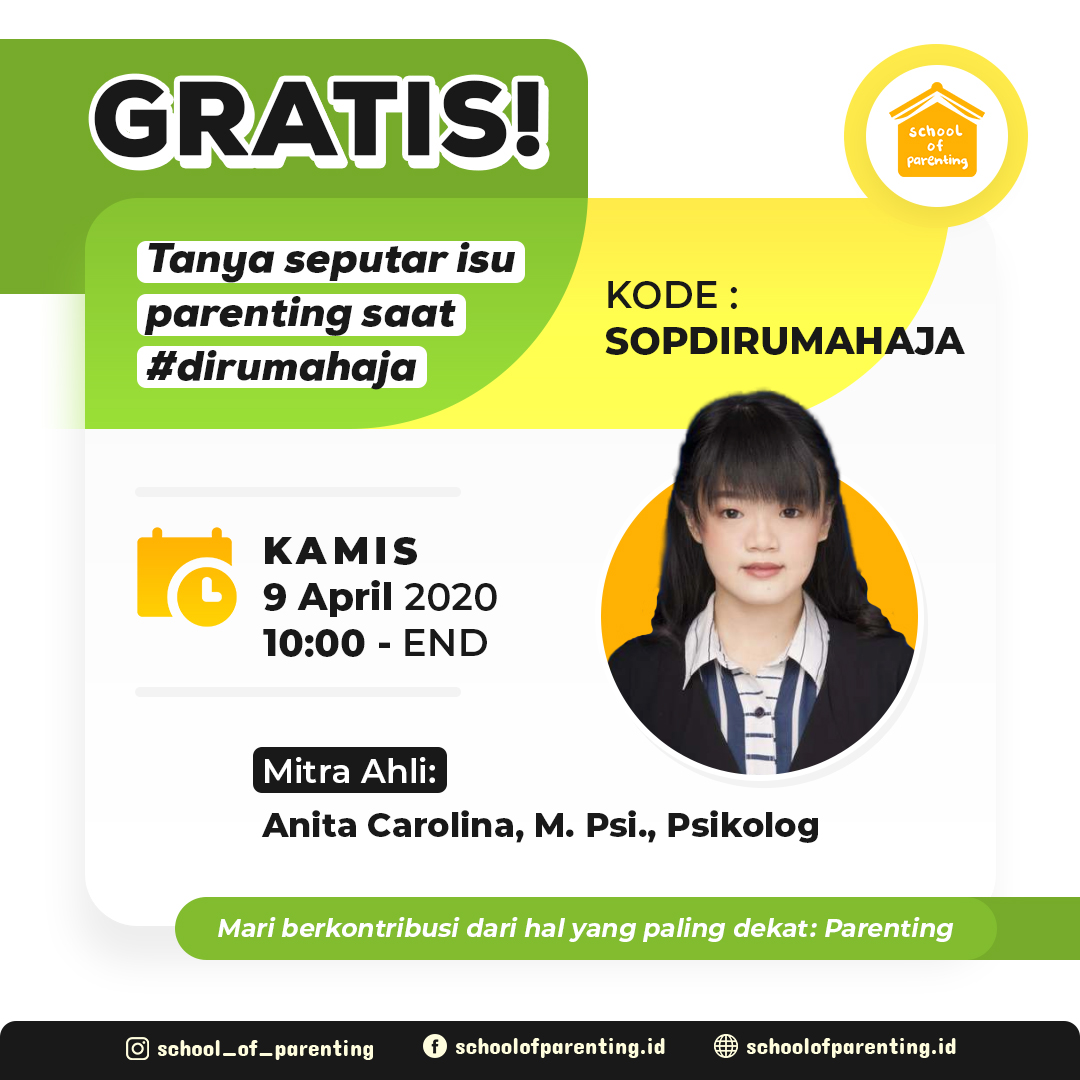 Anita Carolina, M. Psi., Psikolog