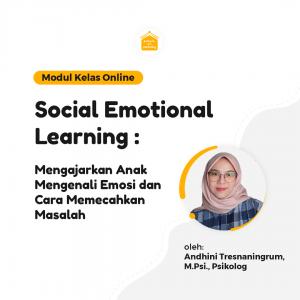Social Emotional Learning : Mengajarkan Anak Mengenali Emosi dan Cara Memecahkan Masalah