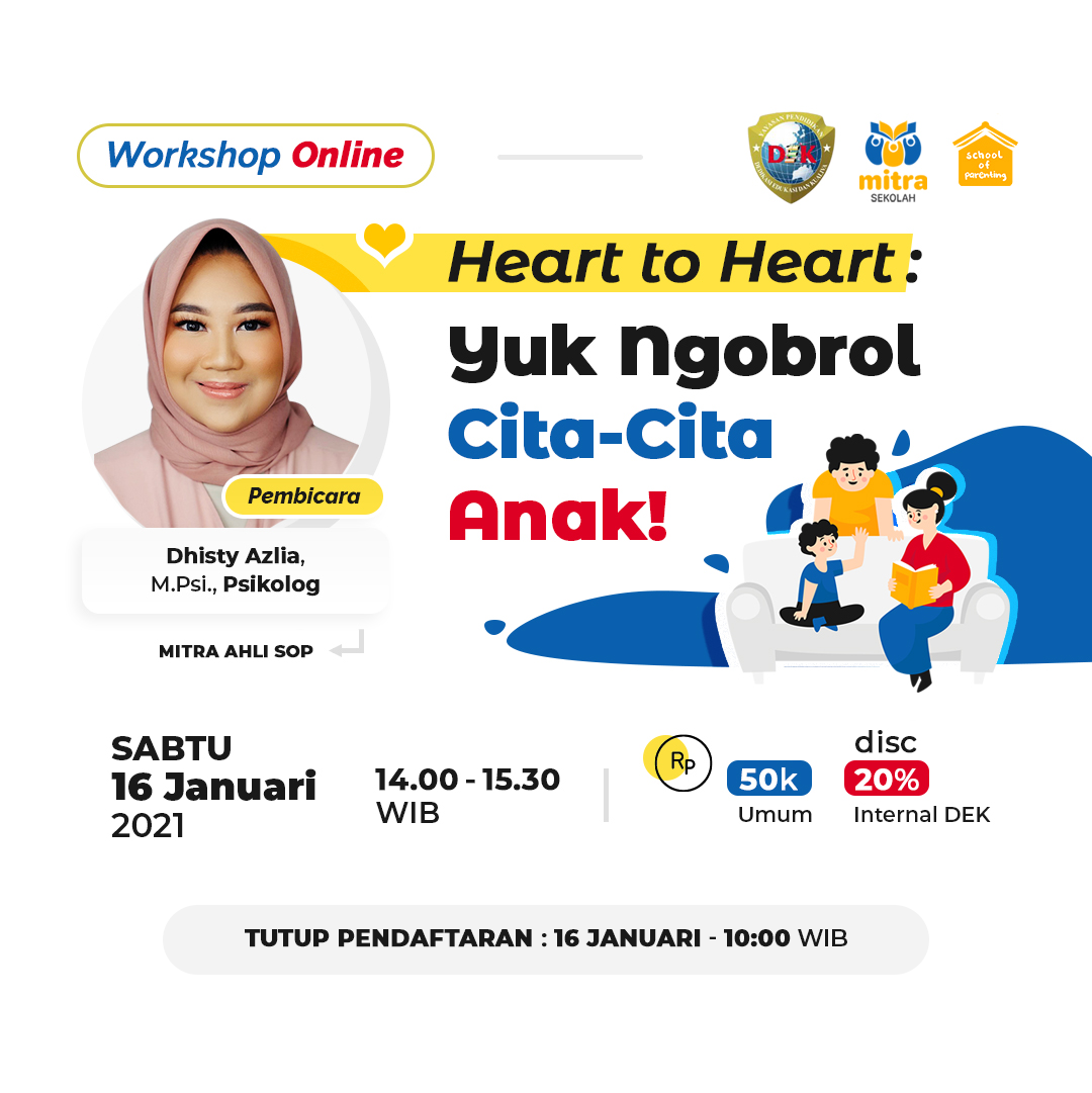 Heart To Heart: Yuk Ngobrol Cita-Cita Anak!