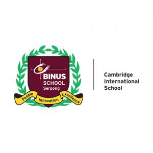Logo BINUS SCHOOL Serpong - Mitra Sekolah SOP