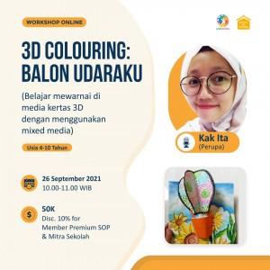 3D Colouring: Balon Udaraku