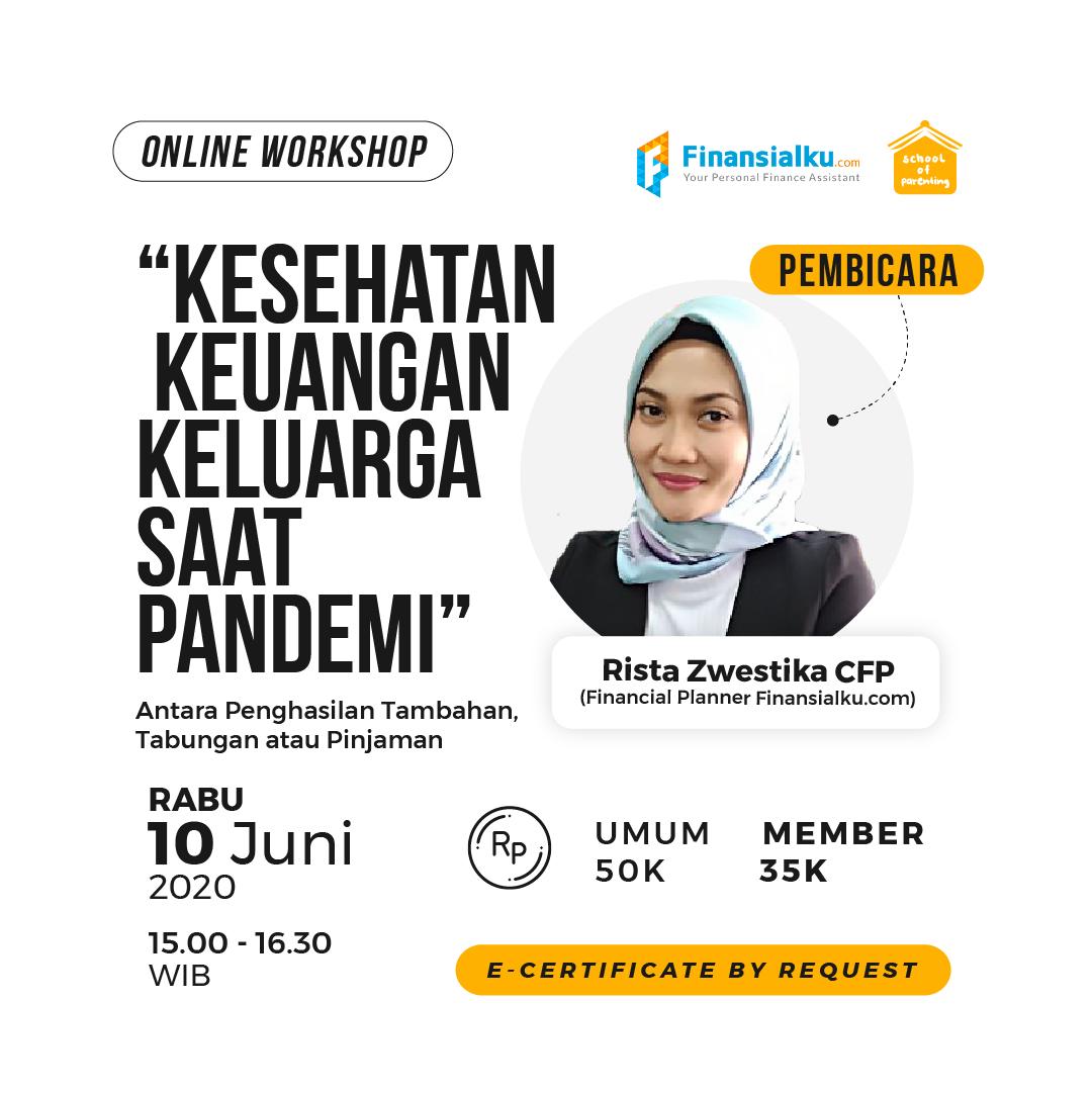 Workshop SOP - Kesehatan Keuangan Keluarga Saat Pandemi