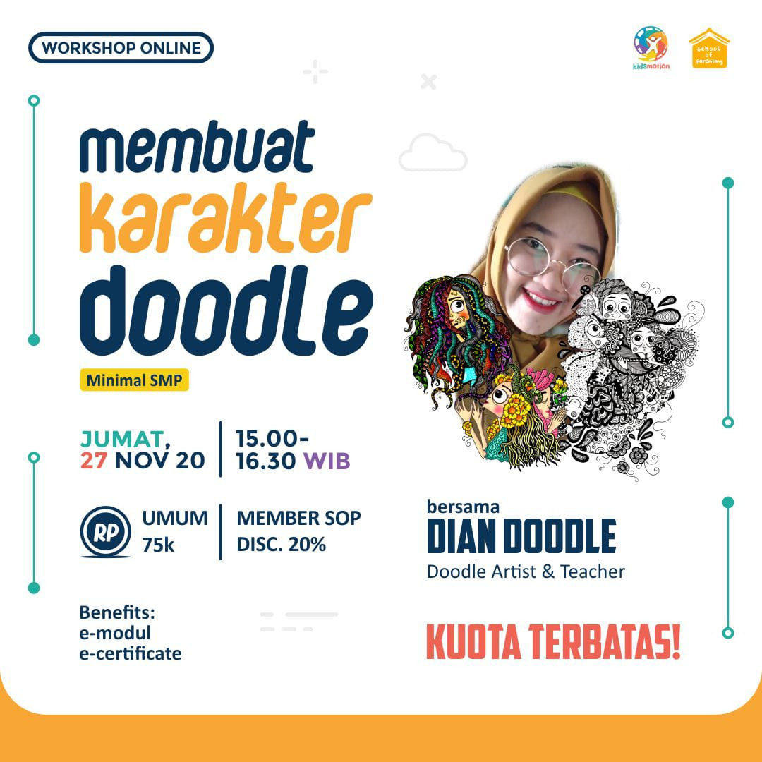 Workshop SOP - Membuat Karakter Doodle
