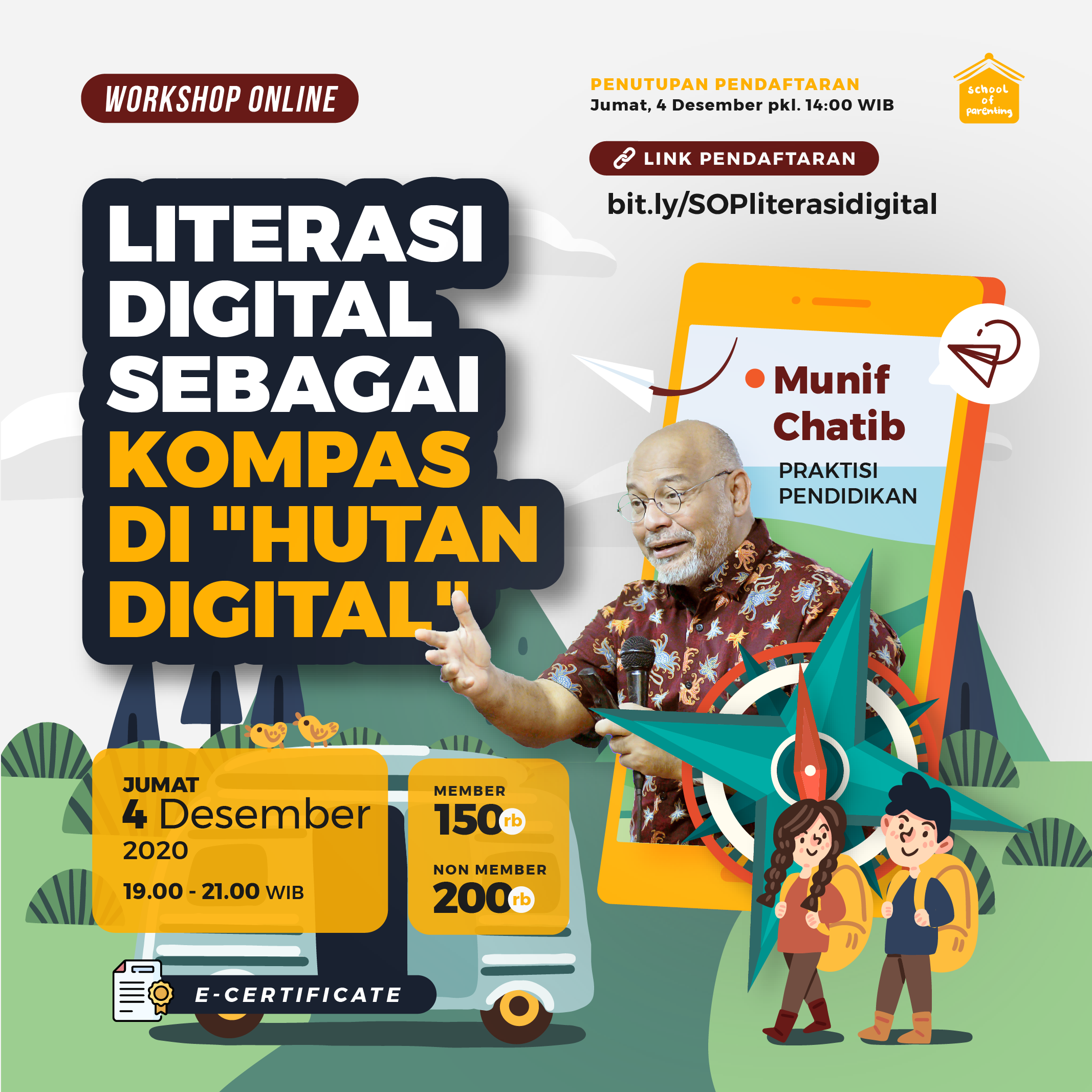 Literasi Digital Sebagai Kompas di Hutan Digital