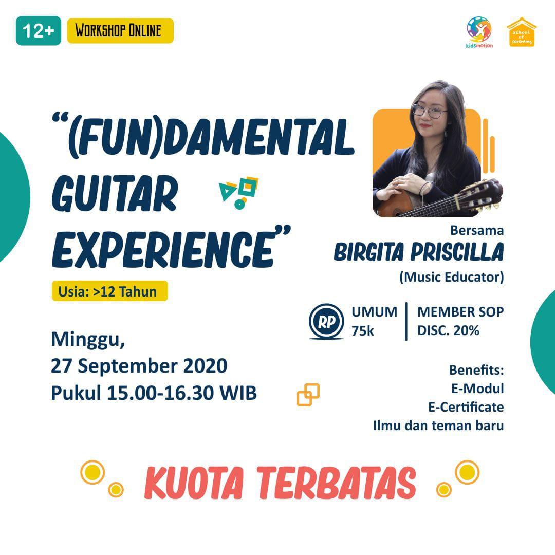 Workshop SOP - Belajar Bermain Gitar