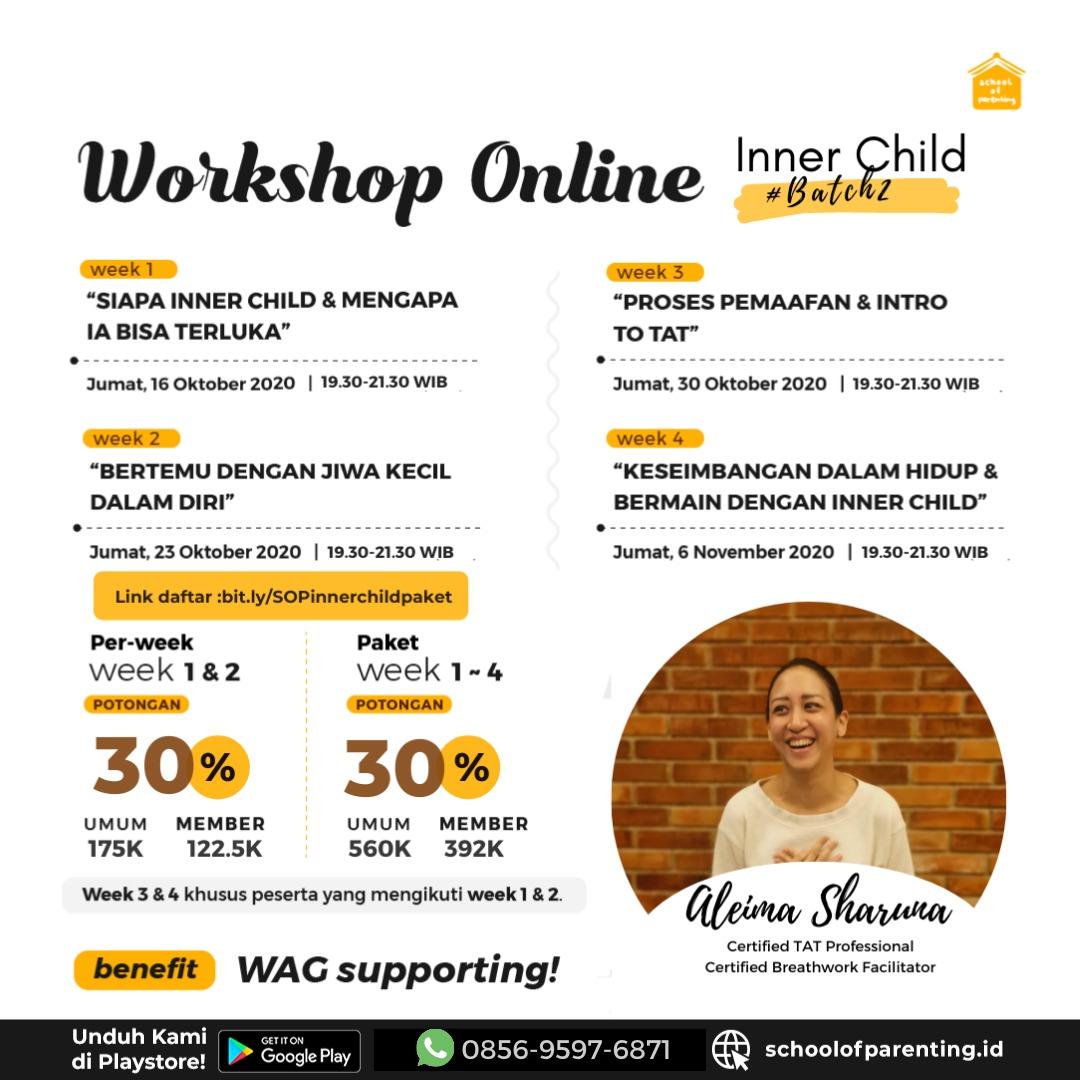 Workshop SOP - Journey to Inner Child : Batch 2
