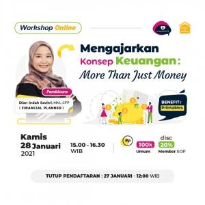 Mengajarkan Konsep Keuangan: More Than Just Money