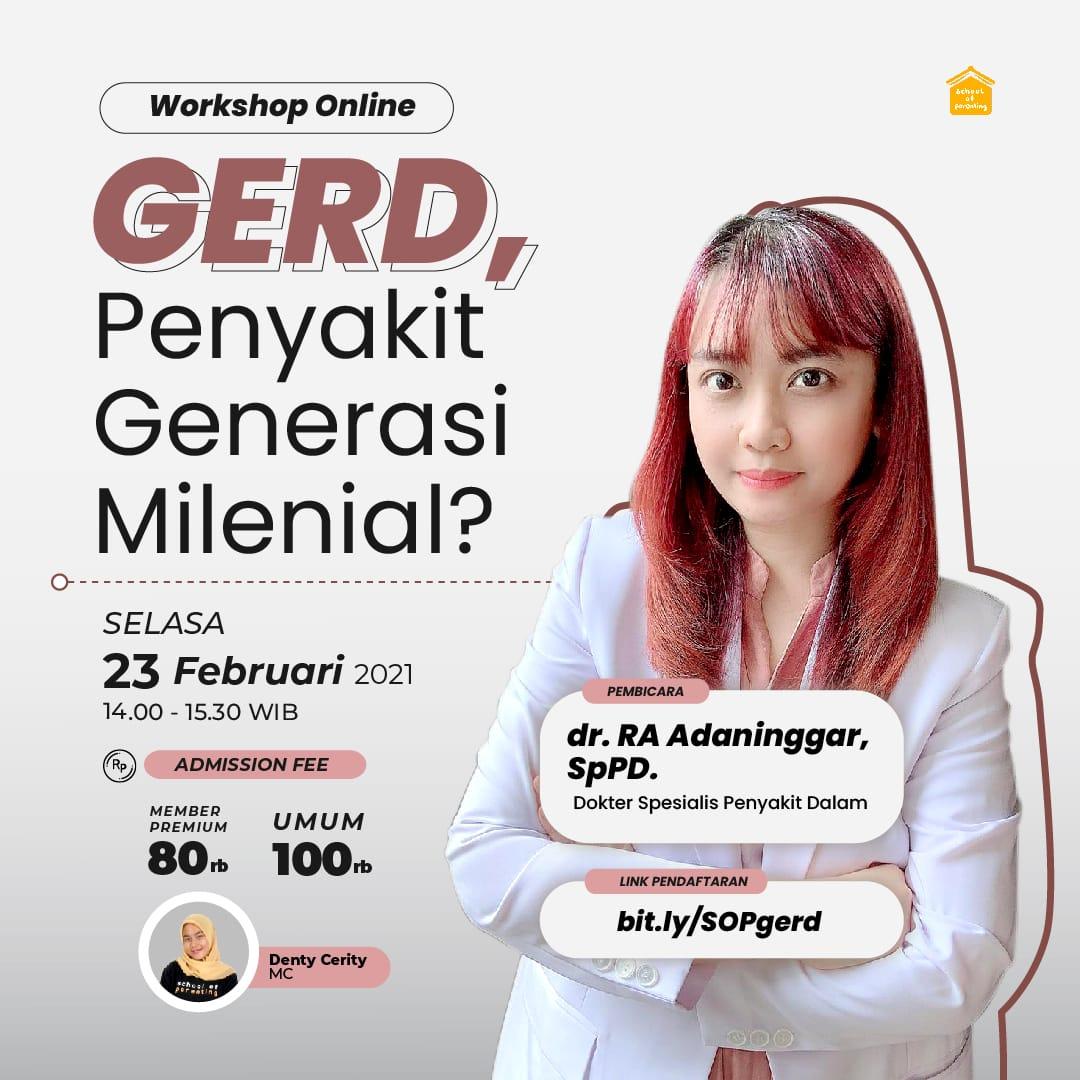 GERD, Penyakit Generasi Milenial?