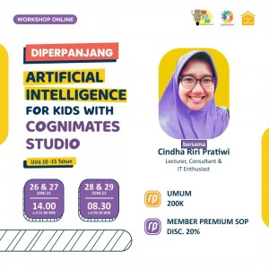 Paket: Artificial Intelligence for Kids With Cognimates Studio